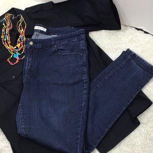 Coldwater Creek natural fit skinny leg jeans 16